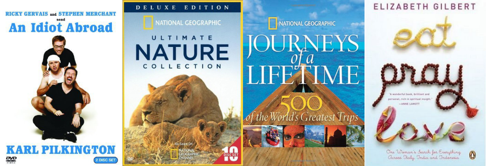 travel books dvd gift guide