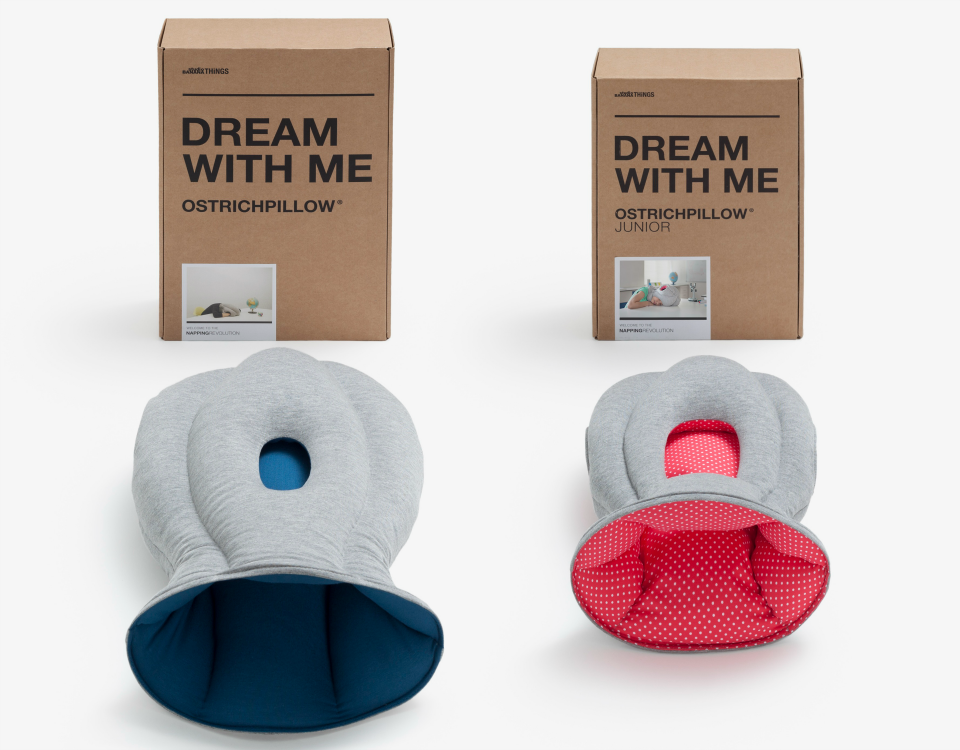 how to clean ostrich pillow